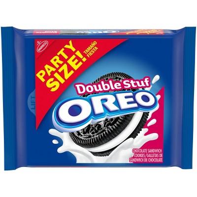 Oreo Double Stuf Chocolate Sandwich Cookies - 26.7oz