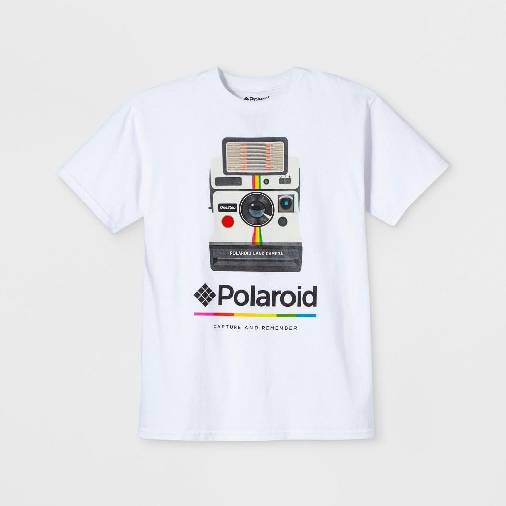 Men's Polaroid Short Sleeve Graphic T-Shirt - White 2XL