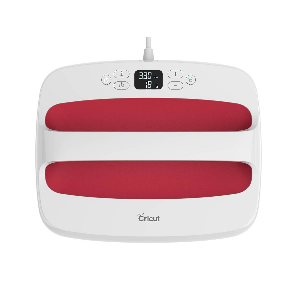 Image of Cricut EasyPress 2 12x10 - Raspberry, Red