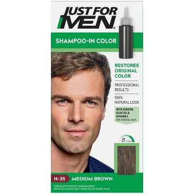 Just For Men Shampoo-In Color Gray Hair Coloring for Men