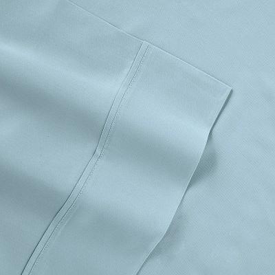 Tempur-Pedic Queen 400 Thread Count Cool Luxury Sheet Set Blue
