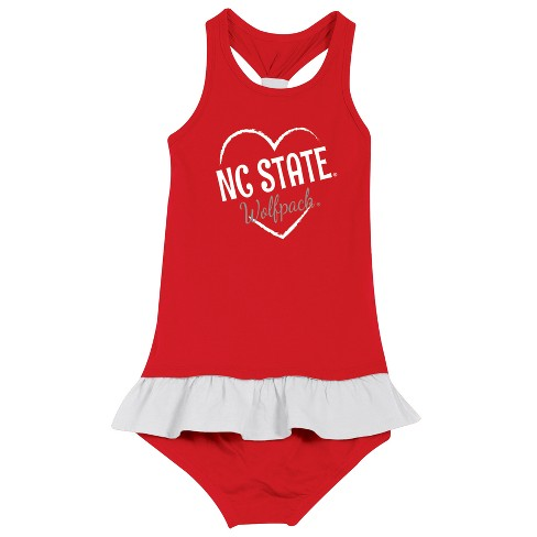 NC State Wolfpack After Her Heart Newborn/Infant Dress 18 M - image 1 of 2