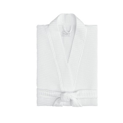 Relaxed Honeycomb Bath Robe - Cassadecor