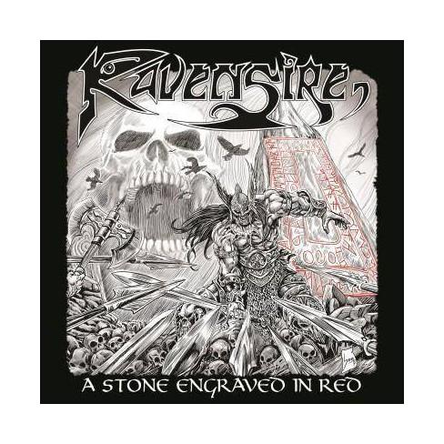 Ravensire - Stone Engraved In Red (Vinyl) - image 1 of 1