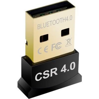 Premiertek BT-400 Bluetooth 4.0 - Bluetooth Adapter for Desktop Computer/Notebook/Tablet - USB 2.0 - 3 Mbit/s - 2.48 GHz ISM - 30 ft Indoor Range