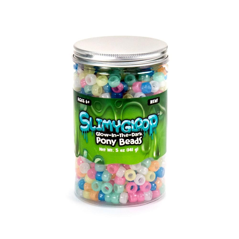 Slimygloop Pony Beads Glow in the Dark