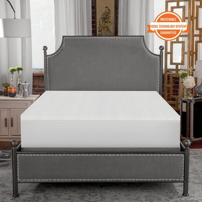SensorPEDIC 1.5-Inch Coolest Comfort Memory Foam Bed Topper