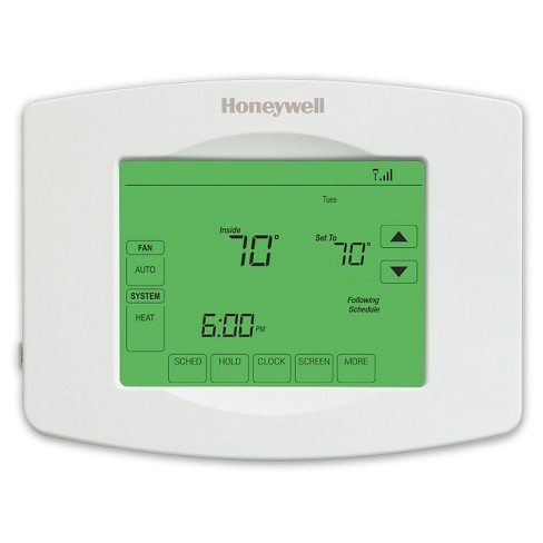 Honeywell Wi-Fi 7-Day Programmable Touchscreen Thermostat - image 1 of 6