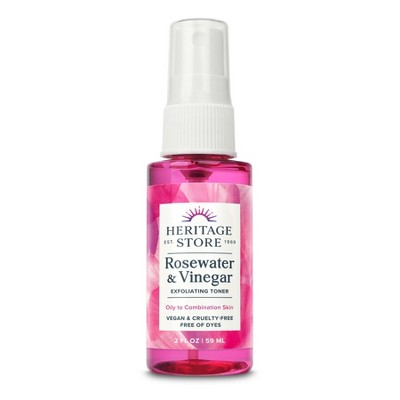 Heritage Store Rose Petals Rosewater Vinegar - 2 fl oz