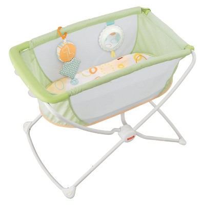 Fisher-Price Rock N Play™ Portable Bassinet - Green