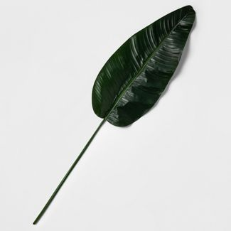 "53"" Artificial Travelers Palm Leaf Stem Green - Threshold™"