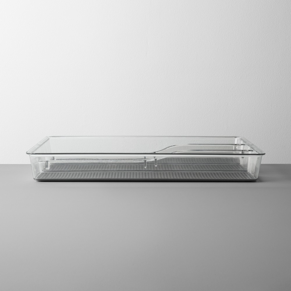 Acrylic Drawer 3 Compartment - Made By Design, Clear
