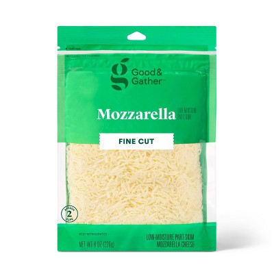 Finely Shredded Mozzarella Cheese - 8oz - Good & Gather™