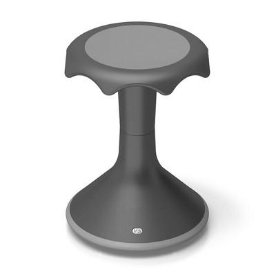"VS America Hokki Stool Flexible Ergonomic Seating - 18"" Black"
