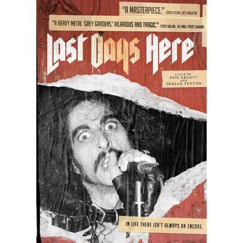 Last Days Here (DVD) - image 1 of 1