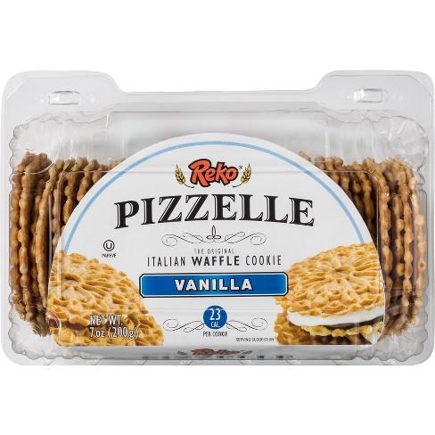 Reko Pizzelle Italian Waffle Cookies Vanilla - 4ct/7oz - image 1 of 4