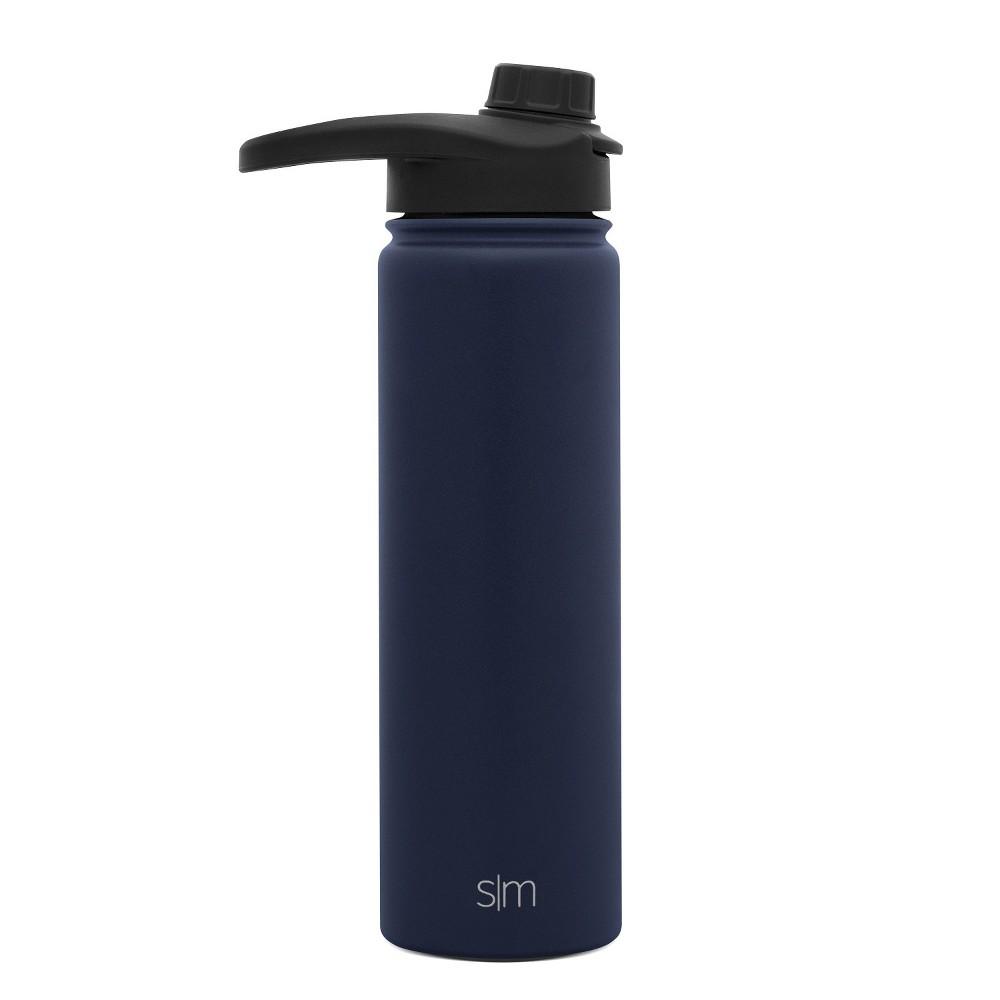 Simple Modern Summit 22oz Stainless Steel Water Bottle Navy (Blue)