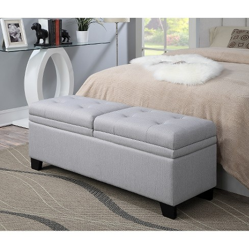 Upholstered Bedroom Storage Bench Trespass Marmor - Samuel Lawrence - image 1 of 7