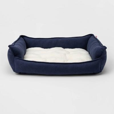 Rectangular Hi Wall Cuddler Dog Beds - M - Boots & Barkley™