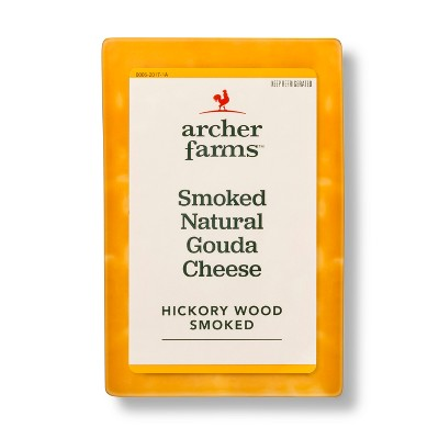 Smoked Naturals Gouda Cheese - Price Per lb. - Archer Farms™