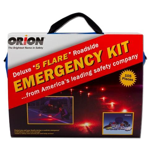 Orion 105pc Deluxe Roadside Emergency Kit - image 1 of 4