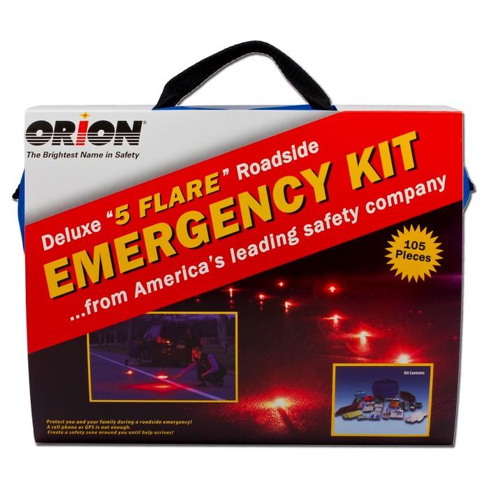 Orion Deluxe Roadside Emergency Kit-105pc - image 1 of 4