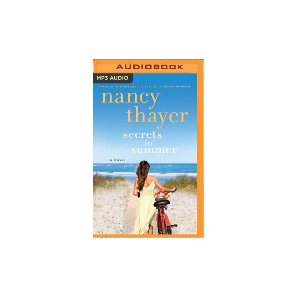 Secrets in Summer - by Nancy Thayer (MP3-CD)