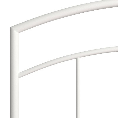 Julien Metal Headboard with Frame White - Hillsdale Furniture