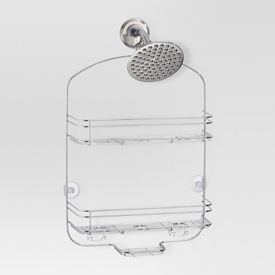 Bathroom Shower Caddy - Chrome - (Wide)- Threshold™