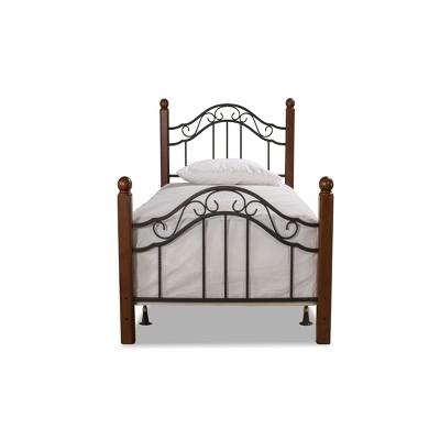 Twin Madison Bed Set Black - Hillsdale Furniture