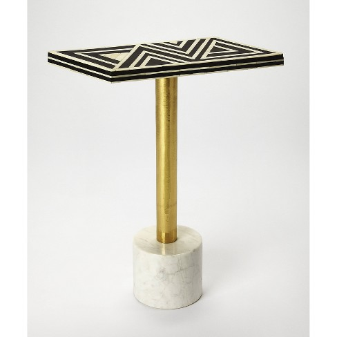 Draper Bone Inlay Accent Table - Butler Specialty - image 1 of 4