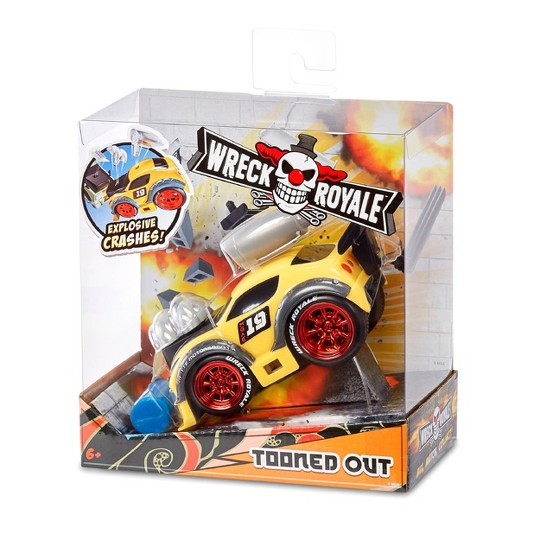 Wreck Royale Exploding Crashing Tooned Out Race Car image number null