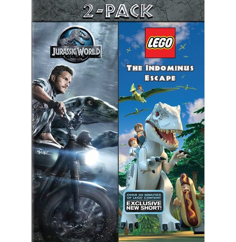 Jurassic World/Lego Jurassic World (DVD) - image 1 of 1