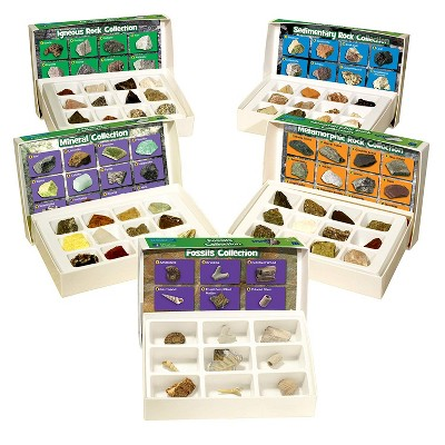 Educational Insights Complete Rock, Mineral & Fossils Collection