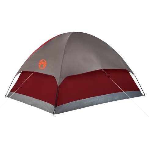 coleman flatwoods ii 4 person tent red target
