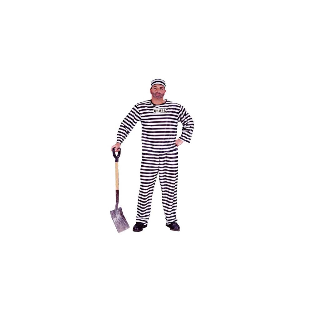 Men's Convict Costume One Size