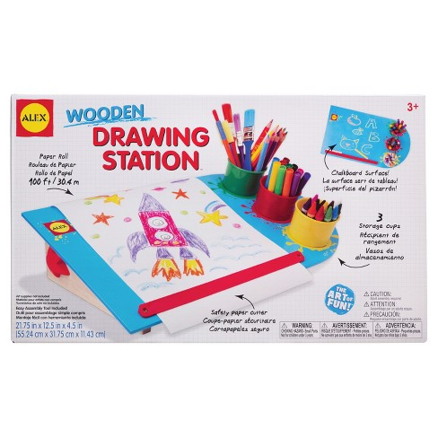 Alex® Toys Artist Board Wooden Drawing Station™ - image 1 of 5