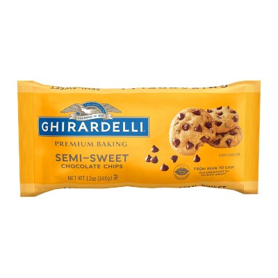 Ghirardelli Semi-Sweet Chocolate Premium Baking Chips - 12oz