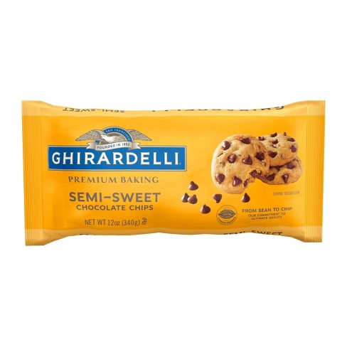 Ghirardelli Semi-Sweet Chocolate Premium Baking Chips - 12oz - image 1 of 4
