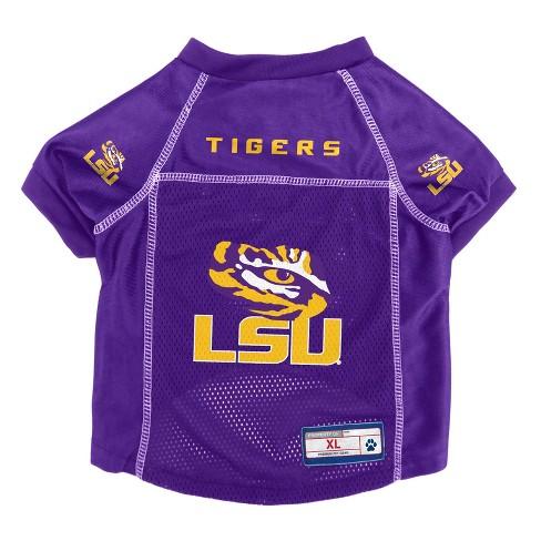big sale 82e2a eb8a8 NCAA Little Earth Pet Football Jersey - LSU Tigers
