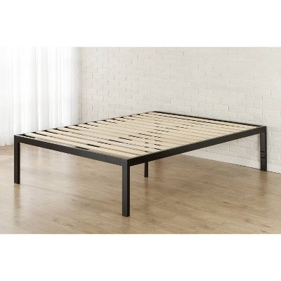 Lorrick Quick Snap Platform Bed Frame Black - Zinus