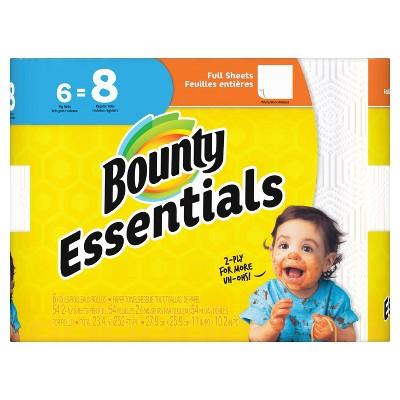Bounty Essentials Full Sheet Paper Towels