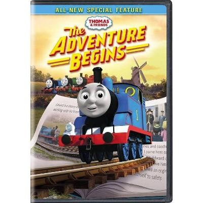 Thomas & Friends: The Adventure Begins (DVD)(2017)