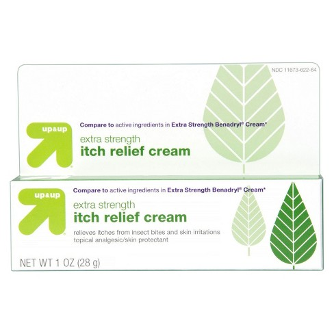 Itch Relief Extra Strength Cream - 1oz - Up&Up™ (Compare to active  ingredients in Extra Strength Benadryl Cream)