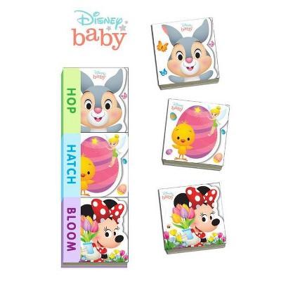 Disney Baby Hop, Hatch, Bloom - (Board Book)