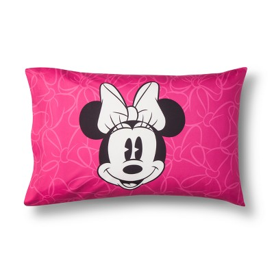 Mickey Mouse & Friends Minnie Mouse Pillow Case Gray/Pink