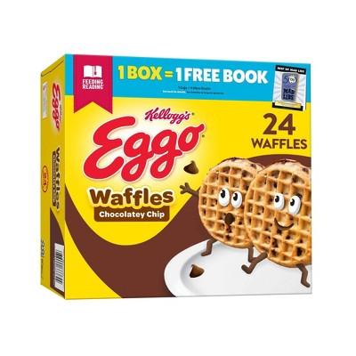 Kellogg's Eggo Chocolatey Chip Family Pack Frozen Waffles - 29.6oz/24ct