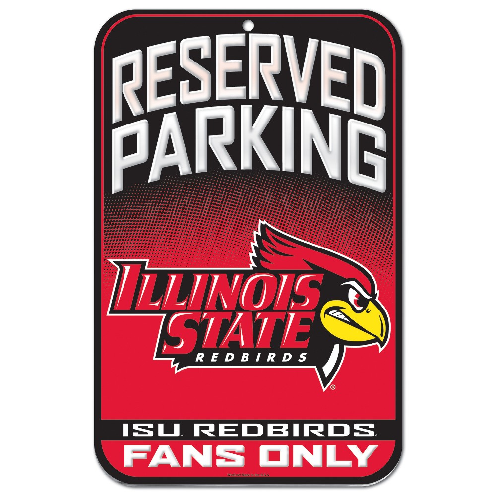 NCAA Illinois State Redbirds Fence Wall Sign