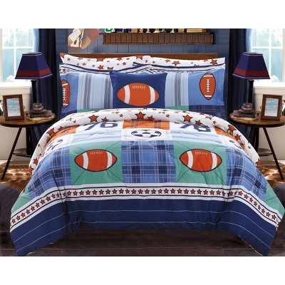 6pc Twin Howard Bed In A Bag Comforter Set Color - Chic Home Design