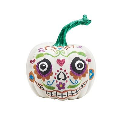 Gallerie II Sugar Skull Pumpkin Sm